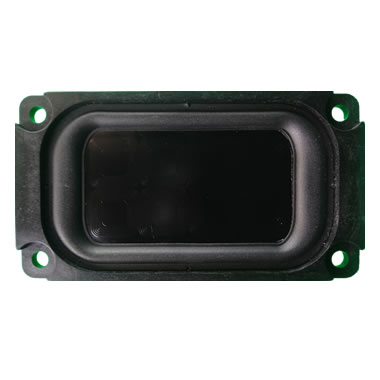 0204 flat panel speaker front view